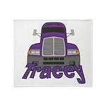 Trucker Tracey Throw Blanket