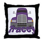 Trucker Tracey Throw Pillow