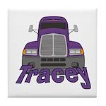 Trucker Tracey Tile Coaster