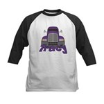 Trucker Tracy Kids Baseball Jersey