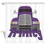 Trucker Trinity Shower Curtain