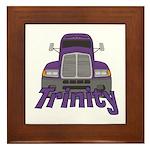 Trucker Trinity Framed Tile