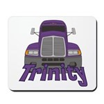 Trucker Trinity Mousepad