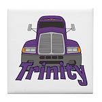 Trucker Trinity Tile Coaster