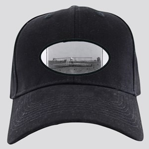 Wright Brothers Airplane Shop Black Cap