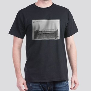 Wright Brothers Airplane Shop Black T-Shirt