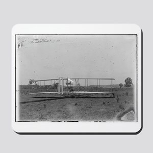 Wright Brothers Airplane Shop Mousepad
