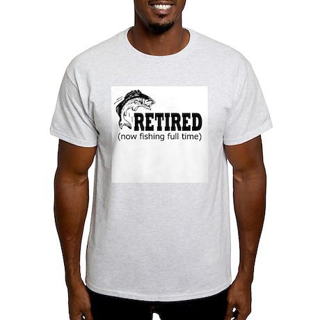 Retired Fishing Shirt Light T-Shirt