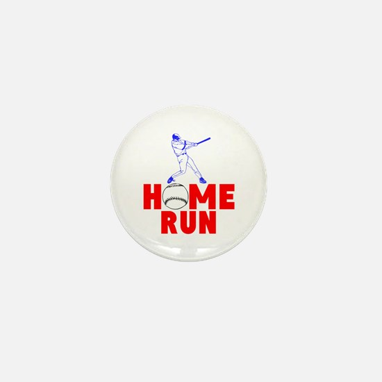 HOME RUN - BASEBALL SLUGGER Mini Button
