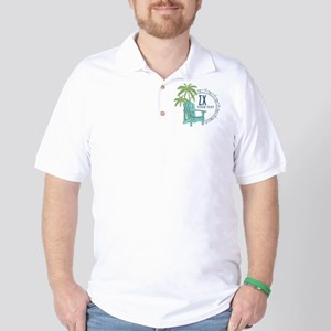 Sigma Chi Palm Trees Personalized Golf Shirt