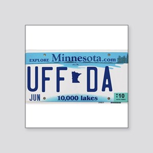 "Minnesota ""Uffda"" Sticker"