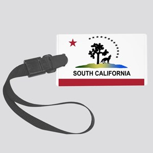 South California Large Luggage Tag