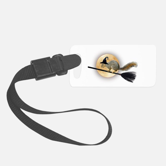 Witch Squirrel Luggage Tag