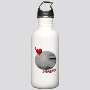 I Love Niagara Falls Stainless Water Bottle 1.0L