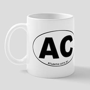 AC (Atlantic City) Mug