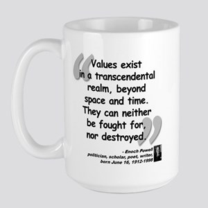 Powell Values Quote Large Mug