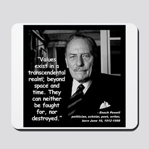Powell Values Quote 2 Mousepad