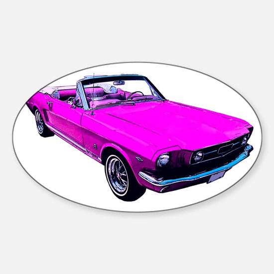 Pink Vintage Car Car Accessories | Auto Stickers, License Plates ...
