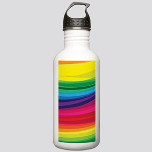 Bright Multicolored Ra Stainless Water Bottle 1.0L