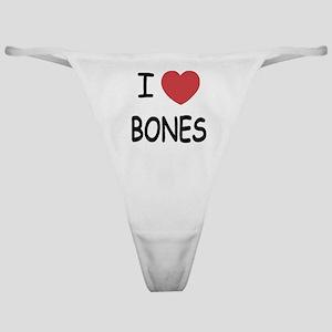 I heart BONES Classic Thong