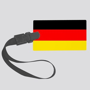 German Flag Large Luggage Tag