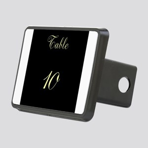 Table Number Rectangular Hitch Cover
