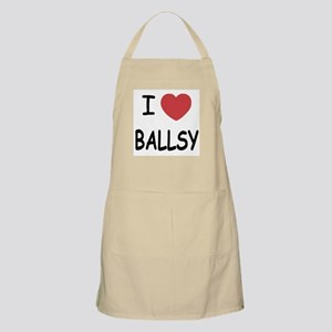 I heart BALLSY Apron