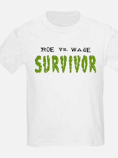Roe vs. Wade - Survivor Kids T-Shirt