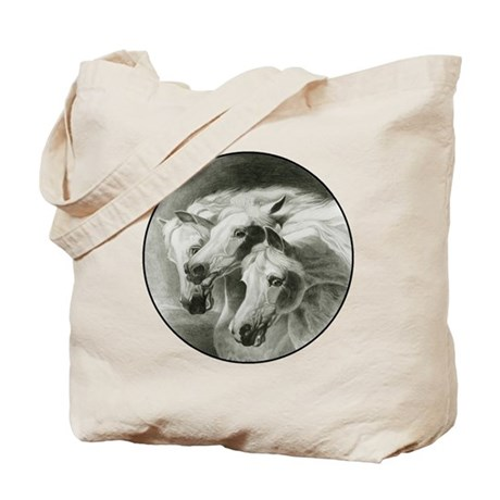 Pharaoh's Horses Tote Bag