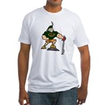 Real Men Wear Kilts Fitted T-Shirt