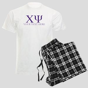 Chi Psi Personalized Pajamas