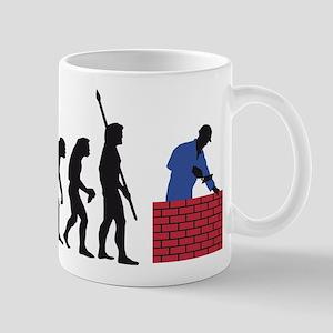 evolution mason Mug