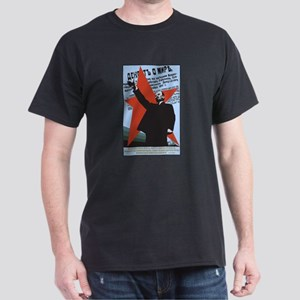 Lenin Black T-Shirt