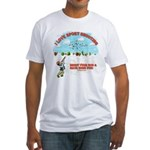 I Love Sport Shooting Fitted T-Shirt