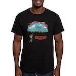 I Love Sport Shooting Men's Fitted T-Shirt (dark)