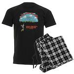 I Love Sport Shooting Men's Dark Pajamas