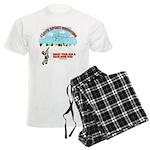 I Love Sport Shooting Men's Light Pajamas