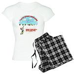 I Love Sport Shooting Women's Light Pajamas