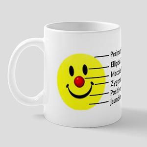 Smiley in Latin Mug