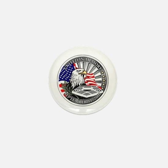 9/11 Memorial Mini Button