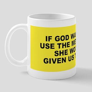 God and Metric System Mug
