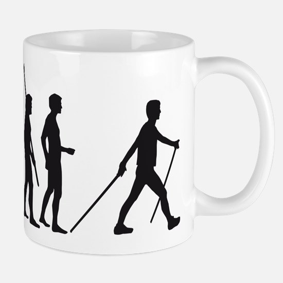 evolution nordic walking Mug