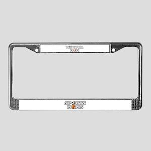Tee Ball Baseball Mom License Plate Frame