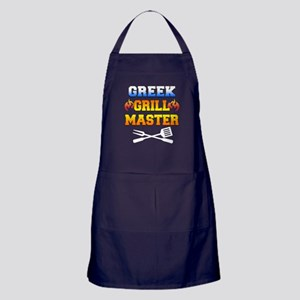 Greek Grill Master Apron (dark)