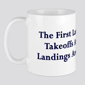 Landings Are Compulsory Mug