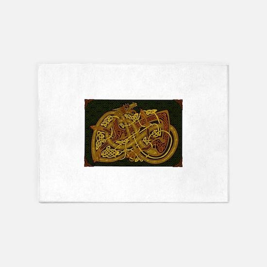 Celtic Best Seller 5'x7'Area Rug