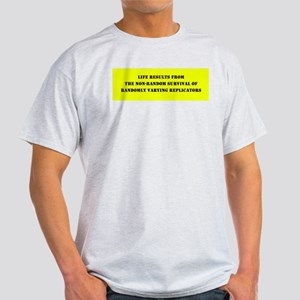 Technical Evolution Humor Ash Grey T-Shirt