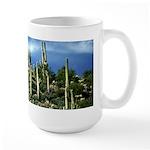 Many Saguaros In Az Large Mug