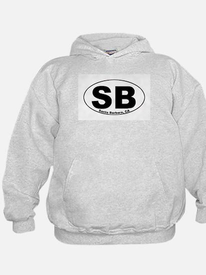 SB (Santa Barbara)  Hoody