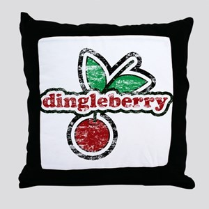 Dingleberry Throw Pillow